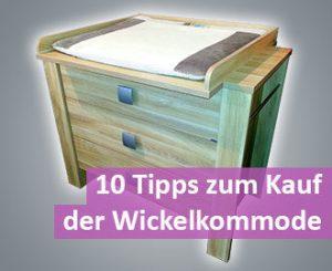 Tipps Wickelkommode