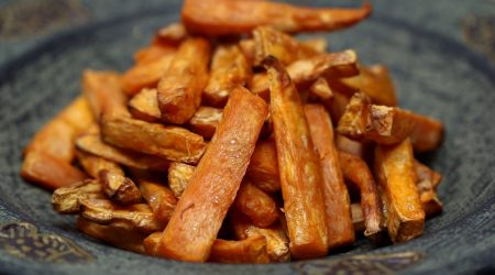 Gesunde Pommes Frites