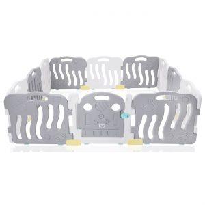 Laufgitter in Grau aus Kunststoff