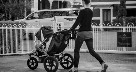 Kinderwagen mit 3 Rädern